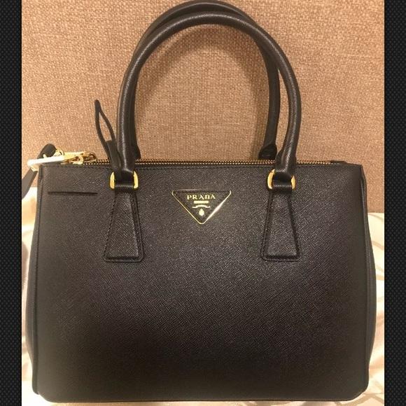 b23e65b245da Prada Bags | Saffiano Lux Double Zip Bag | Poshmark